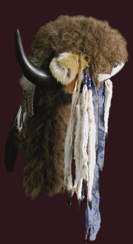 Buffalo horn bonnet